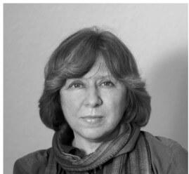 Svetlana Alexijevič (*31. máj 1948, Stanislav, Ivano-Frankivsk)